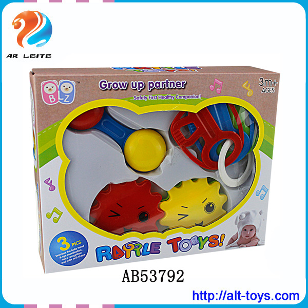 High Quality Ring Cute Rattle Baby Toys Bell For Kids
