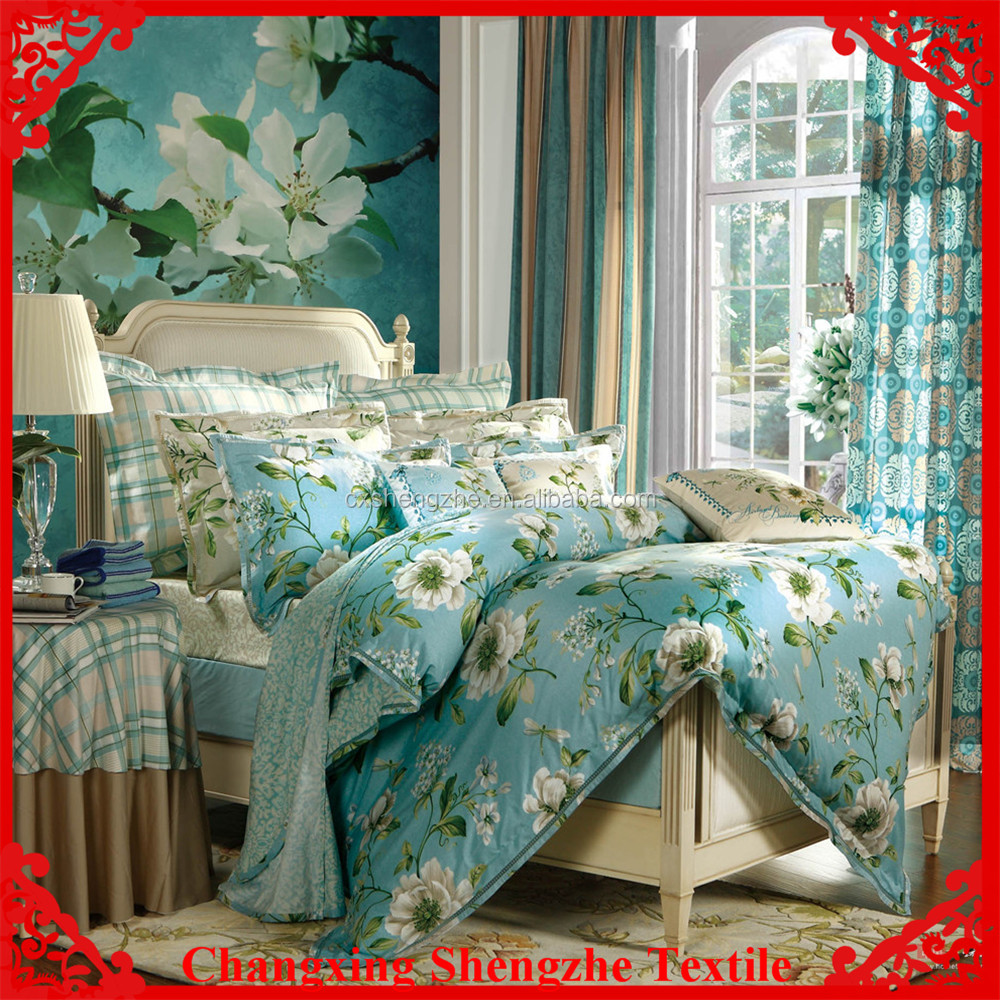 with pigment china bedsheets from nantong textile