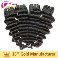 Factory perfect black lady 100% virgin remy hair buy human hair online hair extension in dubai