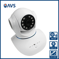 Support AWB,AGC,BLC &Network Storage or TF 720P 10 PCS IR LED 3.6mm IP Camera