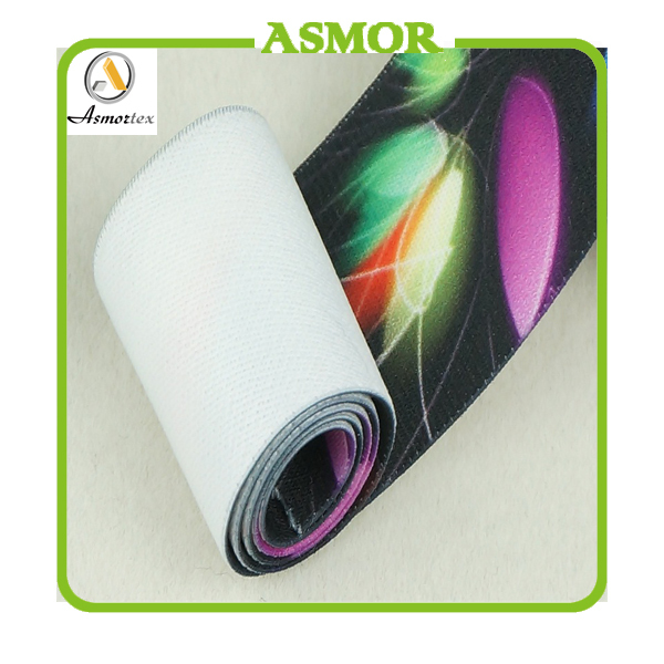 2015 New Logo Printed Elastic Band For Home Textile