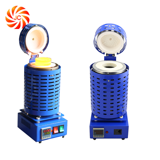 4kg Small Electric Portable Gold Melting Furnace for sale