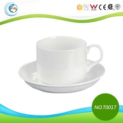 European Style Coffee Cup And Saucer Set for Coffee Shop