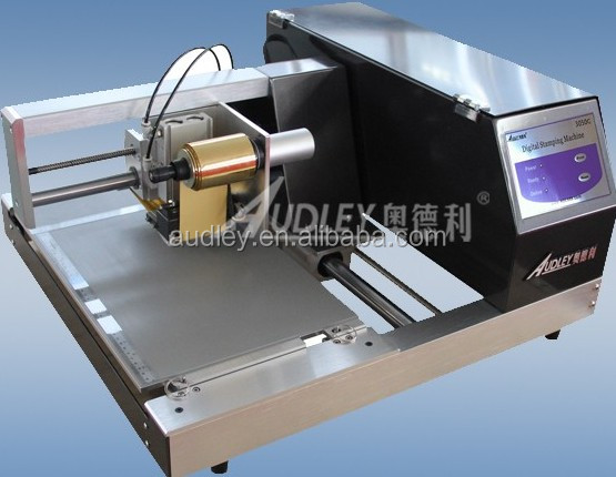 digital automatic gold foil thesis cover foil printing machine ADL-3050C