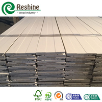 FJ Solid Pine Primed Wooden Molding Baseboard Supplier