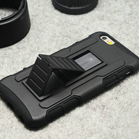 Buy direct from china Silicon PC Case Back Clip Belt Stand Holder Case For iPhone6 made in china