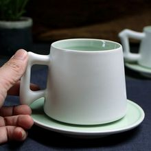 new products colorful bone china coffee cup with saucer for gift from china products