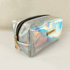 Metallic Beauty Protable Zip Cosmetic Bag Fashion Modella Cosmetic Bag Travelling Cosmetic