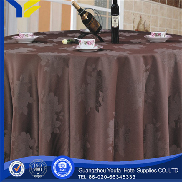 Satin Fabric high quality Printed 36 round tablecloths