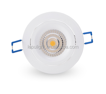 CE & ROHS approved 8w 13w recessed ip44 led downlight 8w 2000k to 3000k dimmable 5 years warranty with 5second fast install