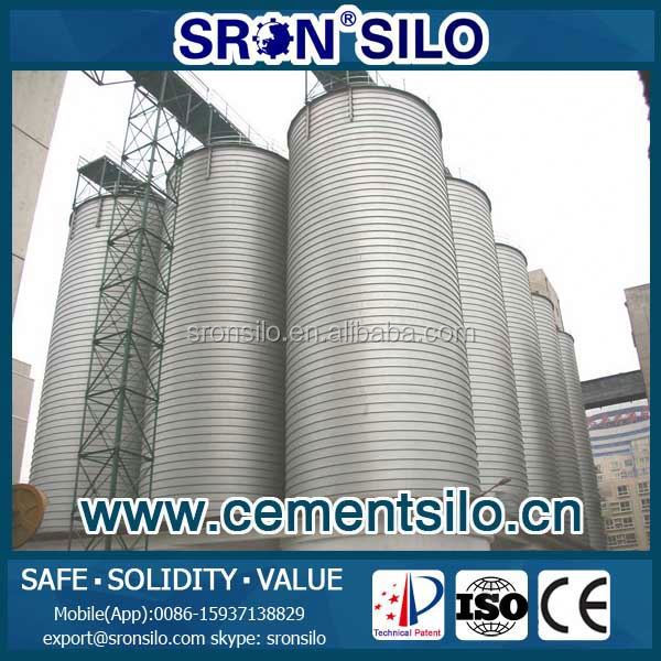 cement silo used for fiber cement board production line