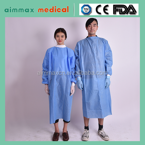 2017 trending products sterile surgical gowns Medical Consumables