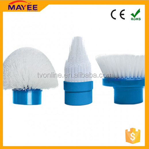 High quality Spin scrubber cleaning brush/360 Spin Cordless Power Scrubber with Cleaning Kit for home appliances