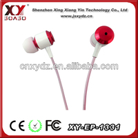 High end lastest design bassbuds earbuds colored
