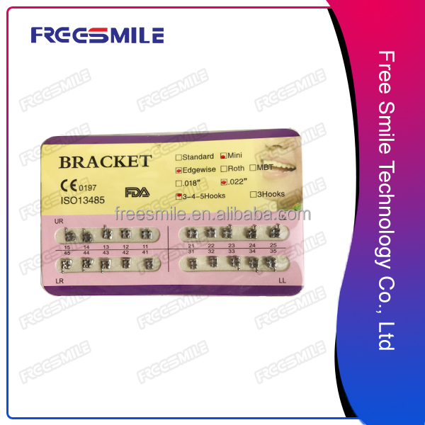 Professional supplier dental materails transparent brackets with Quality Assurance
