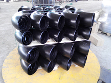 Specializing in the production of stainless steel pipe fitting sch 40 seamless elbow