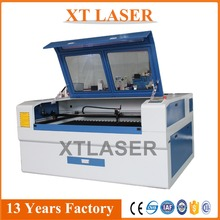 Paper clothing cutter and engraver co2 laser cutting and engraving machine 150w glass tube
