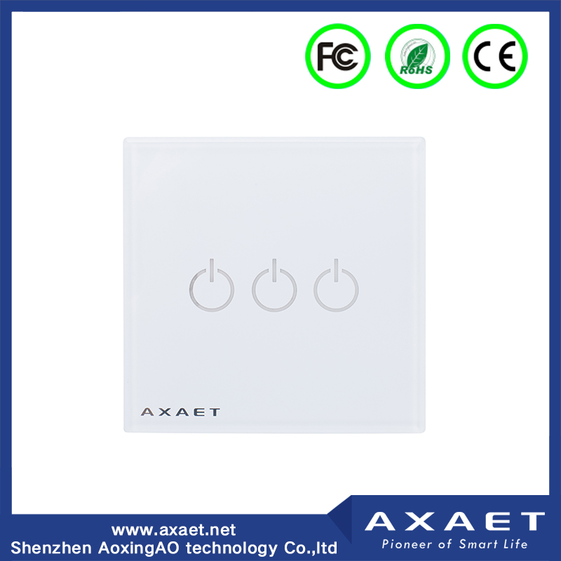 WIFI/Bluetooth ble screen touch/ remote/voice control wireless smart switch board