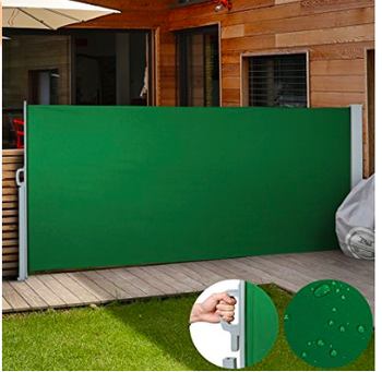 Garden decoration wind screen side Awning in different colors