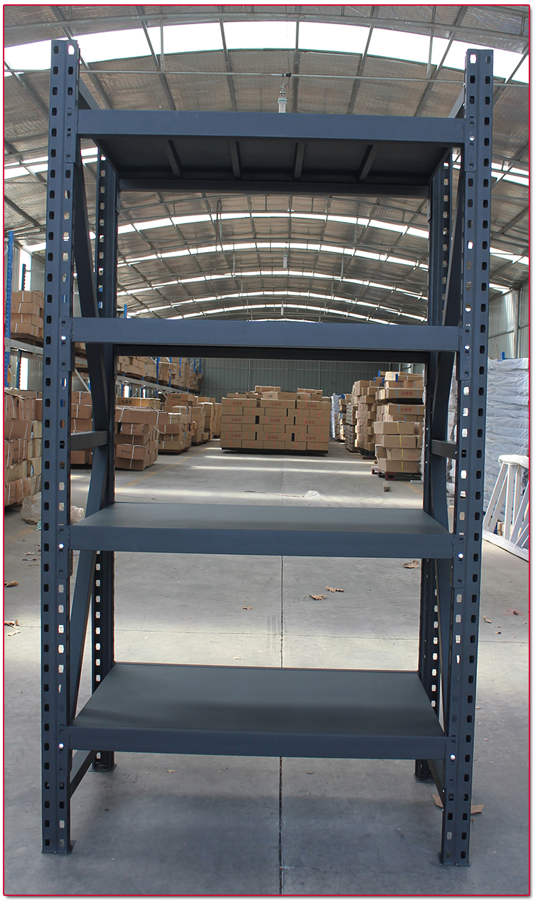 Commercial Metal Medium Duty Warehouse Storage Rack and Metal Storage Shelf