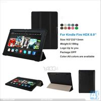 Kid proof tablet leather case for kindle fire hdx 8.9