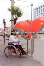 OEM,customer designed public phone booth / telephone booth