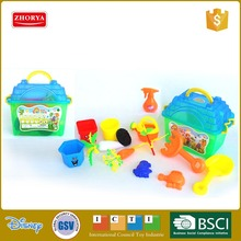 Newest children toys pretend play plastic tool toy set 14 pcs indoor gardening tool set