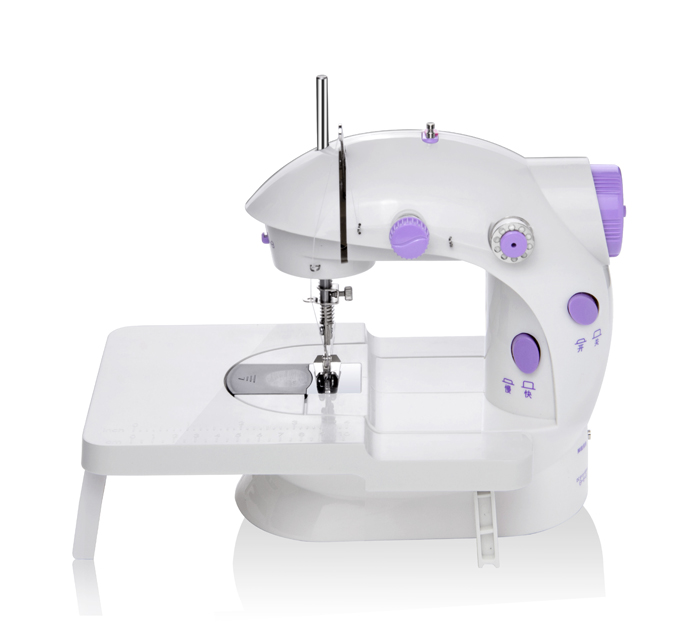Domestic mini sewing machine with table fhsm 202 for more - Small sewing machine table ...