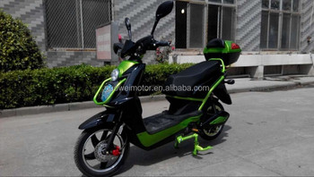 500W 48V20AH lead-acid battery Electric Scooter with pedal, made in GUOWEI,China