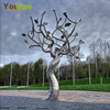 Garden Decorative Outdoor Large Stainless Steel Tree Sculpture