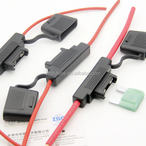 professional manufacture MAXI Blade Fuse Holder Waterproof 8AWG (8 Gauge) In-Line Wire Cable + 80AMP Fuse
