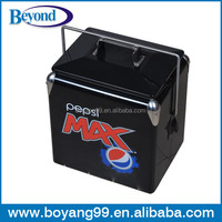 metal portable beer ice cooler