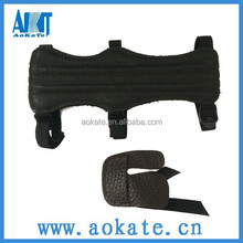 high quality archery products OEM production arm guard and archery finger tab leather finger guard