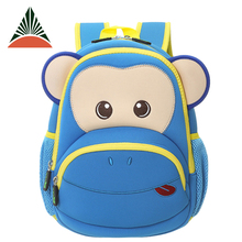 Custom Wholesale Neoprene Children Cartoon Baby School Bag