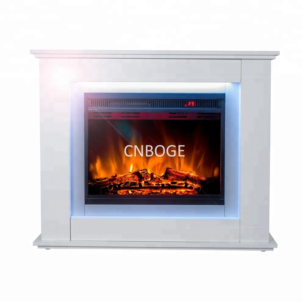 Awesome Electric Fireplace Insert And Mantel With 12 Color Automatic Changing Top Light Buy Corner Fireplace With Frame Electric Fireplace Insert Download Free Architecture Designs Rallybritishbridgeorg