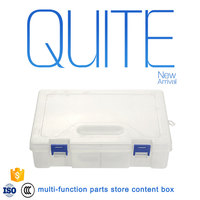 tool box with drawers plastic handle carrying type plastic tool storage box