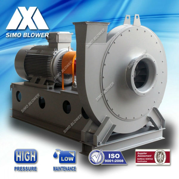 High Pressure Centrifugal Blowers : Stainless steel high pressure forward furnace coke oven