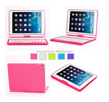 Wireless bluetooth Keyboard Cases Folio Station For IOS Retina iPad mini /new ipad mini 7.9 Inch Pink/Black/White/Green