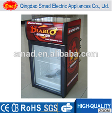 table top glass door chiller mini bar fridge mini refrigerator