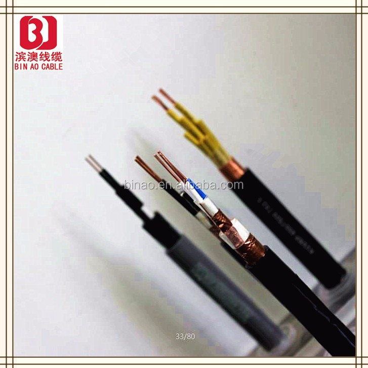 Copper core PVC insulation PE sheath 450/750V control cable,3.5mm audio cable with volume control with low copper wire price