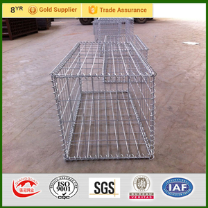 hot dip galvanized welded gabion baskets