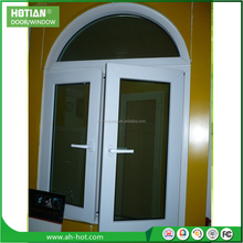 PVC Arched Top Window Round Design Swing Casement Window from China Factory