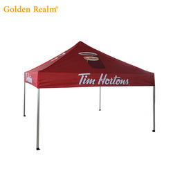 Factory price 3X3M fireproof PU Popup Heavy Duty Tent Folding Marketing Canopy event tent