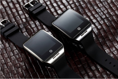 Man Smart watch with touch screen camera TF Card Sim card for android and IOS