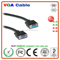 male to female vga to vga component cable