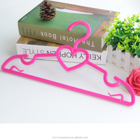 HMT small size lovely hangers plastic cloth hangers