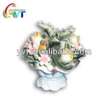 Home Decoration Handmade Flower Bouquets Making Ceramic Flowers