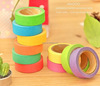 DIY Cute Kawaii Candy Color Japanese Washi Tapes Paper Masking Stickers for Home Decoration Scrapbooking