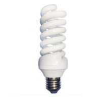 15w 9mm full spiral tube e27 cfl bulb light energy saving lamp