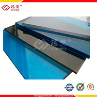 100% raw lexan construction material pc polycarbonate pc plexiglass sheet roof